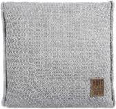 Knitfactory Jesse - Sierkussen - 50x50 L. Grijs