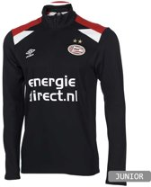 PSV Trainings Ziptop 2017-2018 Kids - Maat 134 - Zwart - Rood - Wit