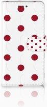 Samsung Galaxy S7 Edge Boekhoesje Design Cherries