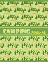 Camping Journal: Great RV Vacation Journal/Keep Campground and Notes for 60 Trips