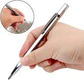 Multifunctionele Robuuste Graveerpen - Graveer Pen Voor Graveren Van Metaal / Glas / Hout / Leer / Plastic