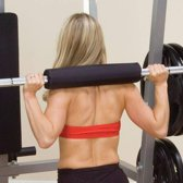 Body-Solid BAR PAD FOR OLYMPIC BAR (BLACK)
