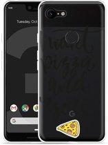 Google Pixel 3 XL Hoesje I Want pizza