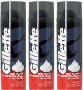 Gillette Scheerschuim Normaal 300 ml - Multipak 3 stuks