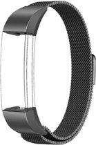 YONO Milanees bandje - Fitbit Alta (HR) - Zwart - Small