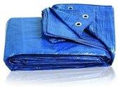 Premium Blauw Dekzeil - 3x4m - 100gr/m2 | Waterdicht en Zeer Sterk Materiaal | Afdekzeil | Bouwzeil | Dekkleed | Grondzeil | Afdekmateriaal | Bouwmateriaal | Klussen