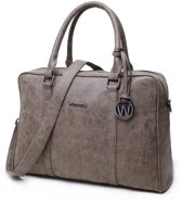 Wimona Luciana 2010 - Dames Laptoptas - 15,6 inch - Taupe