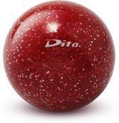 Dita Glitter ball - Veldhockeybal - Rood