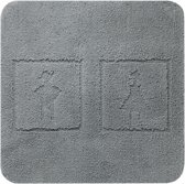 Sealskin Man&Woman - Badmat - 60x60 cm - Antraciet