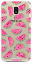 Samsung Galaxy J3 2017 - TPU Soft Case - Back Cover telefoonhoesje - Watermeloen