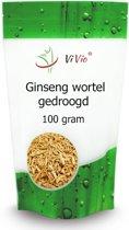 Ginseng wortel gedroogd 100g