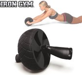 Iron Gym Speed Abs Pro - Buikspieren trainen - Trainingswiel - Buikspierwiel