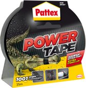 Pattex Power Tape Ducttape Ducktape Waterbestendig - 25 Meter - zwart