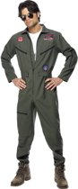 Top Gun overal - Piloten kostuum heren - Maat L - 52-54