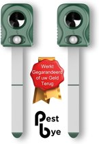 PestBye™ - Set van 2 Kattenverjagers op Batterijen V2 met HyperResonance Frequency™