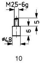 Tastpunt HM 10/4,8mm Käfer