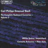Cpe Bach - Keyb.Conc 3