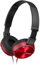 Sony MDR-ZX310 - On-ear koptelefoon - Rood