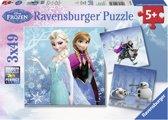 Ravensburger Frozen: Avontuur in Winterland - Puzzel