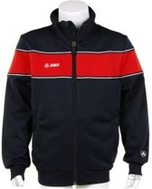 Jako Trainings Jacket Player Junior - Sportshirt - Kinderen - Maat 164 - Dark Navy;Red