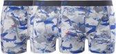Funderwear Boxershort - Maat L --CONVERTMannen - blauw/wit/grijs 3-pack