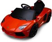 Lamborghini Aventador Elektrische Kinderauto 6 V - Oranje