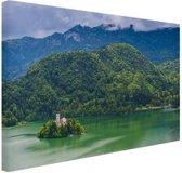 Slovenie Oost-Europa Canvas 80x60 cm - Foto print op Canvas schilderij (Wanddecoratie)