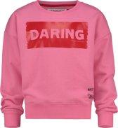 Vingino Meisjes War Child collectie Sweater - Deep Pink - Maat 176
