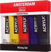 "Amsterdam Standard acrylverf 5 tubes 120ml ""Mixing"""