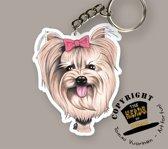 Sleutelhanger Hond Yorkshire Terrier