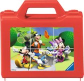 Ravensburger Blokkenpuzzel Disney Mickey Mouse Club House - 6 stukjes - kinderpuzzel