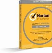 Norton Security Premium 3.0 met 25GB Backup - Nederlands / Frans / 10 Apparaten / 1 Jaar / Windows / Mac / iOS / Android