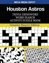 Houston Astros Trivia Crossword Word Search Activity Puzzle Book