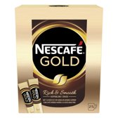Nescafé Gold oploskoffie - 6 x 25 sticks