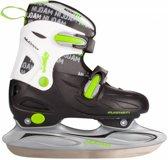 Nijdam 3010 Junior IJshockeyschaats - Verstelbaar - Hardboot - Maat 30-33