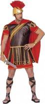 Gladiator kostuum rood-bruin heren M