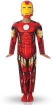 Marvel Avengers Iron Man Deluxe - Kostuum Kind - Maat 116/122 - Carnavalskleding