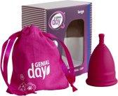 Menstruatie cup van Genial Day, maat L