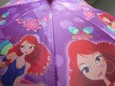 Kinder paraplu paars GIRLS