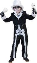 Chique skeletten kostuum voor jongens Halloween  - Kinderkostuums - 104/116