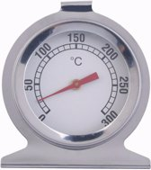 Kitchen Brothers Oven Thermometer - Rookoven Temperatuurmeter - RVS