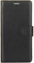 Shop4 - Samsung Galaxy S9 Hoesje - Wallet Case Lychee Zwart