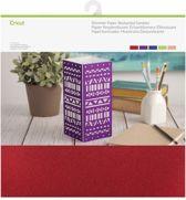"""Cricut Shimmer Paper, Bedazzled Sampler 12""""x12"""""""