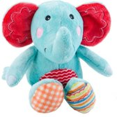 Fisher price blauwe olifant knuffel