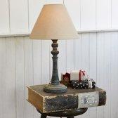 LOBERON Tafellamp Withby antiekgrijs