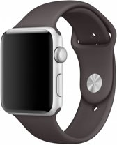 123Watches.nl bandje - Apple Watch Series 1/2/3/4 (38&40mm) - Cacao - S/M