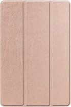 Shop4 - Samsung Galaxy Tab S5e Hoes - Smart Book Case Rosé Goud