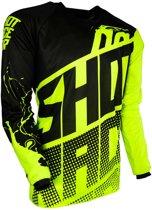 Shot Kinder Crossshirt Devo Venom Neon Yellow-S