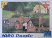 1000 ps. Puzzel Countryside village Engeland Play makers