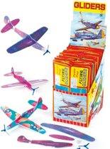 Zweefvliegtuigen  (6 stuks per verpakking)
